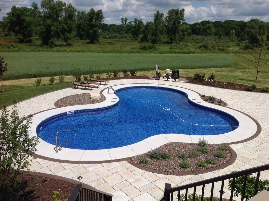 Take a look at our custom designed inground pools for Custom inground swimming pools